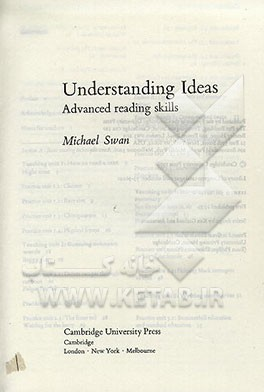Understanding ideas: advanced reading skills